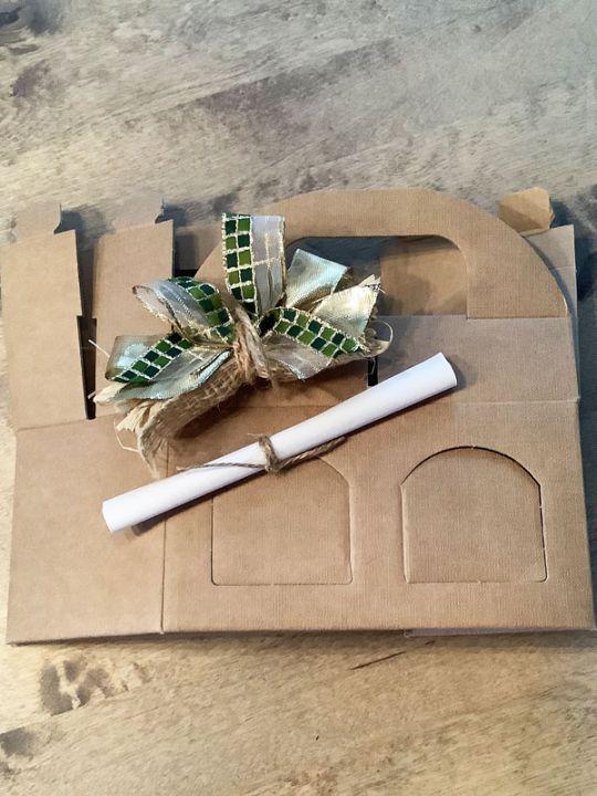 Geschenkverpackung 2er Tragekarton Senf/Tapenade/Oliven