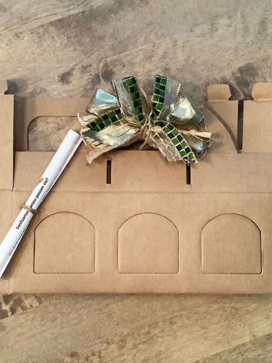 Geschenkverpackung 3er Tragekarton Senf/Tapenade/Oliven