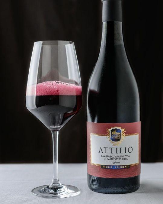 Acetaia Sereni - ATTILIO - Rotwein Lambrusco 750 ml