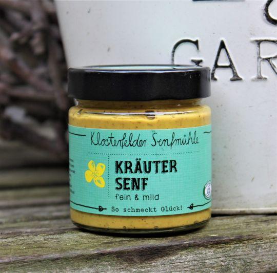 Kräuter Senf - fein/mild- 190 ml