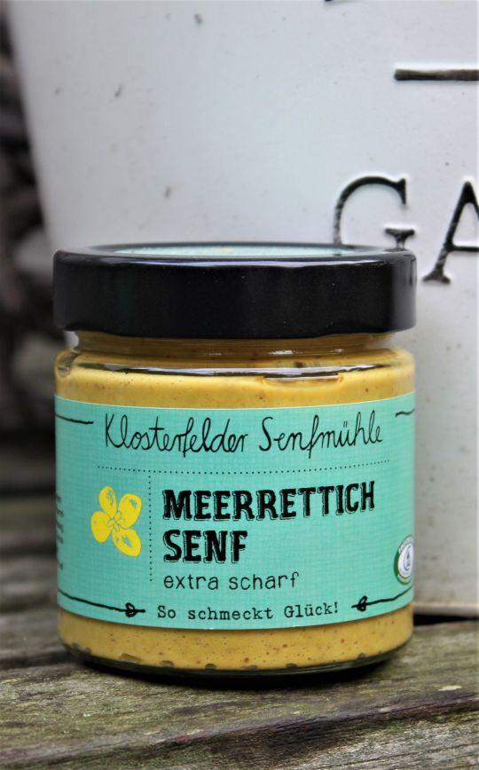 Meerrettich Senf - extra scharf - 190 ml MHD 09.12.2021