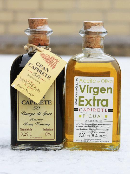 Capirete Natives Olivenöl Extra und Gran Capirete 50 Reserva - je 250ml
